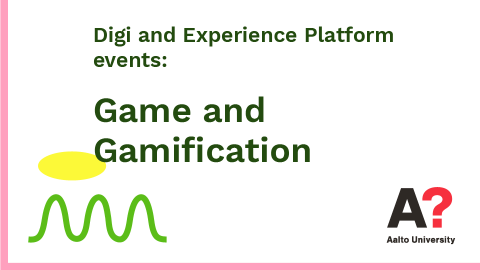 Digi and Experience Platform events: Game and Gamification