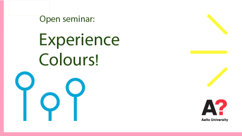 Coming in November: Experience Colours!