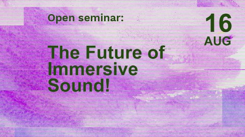 A Rendezvous with Immersive Technologies: The Future of Immersive Sound!